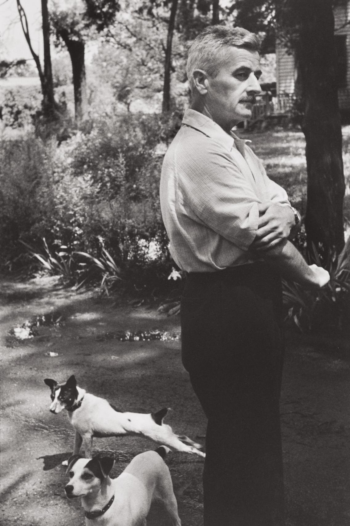 Henri Cartier-Bresson-William Faulkner, Oxford, Mississippi-1947