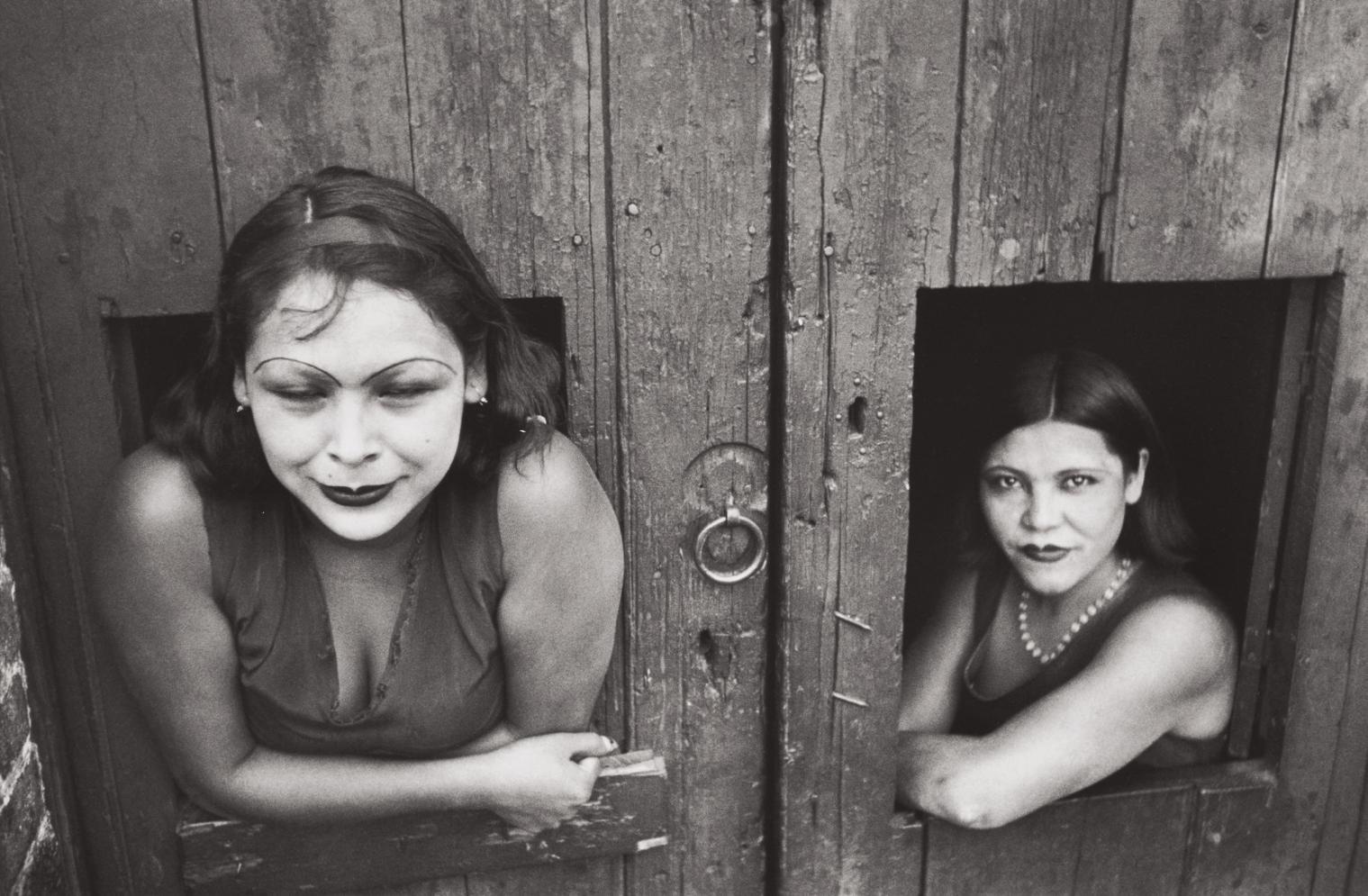 Henri Cartier-Bresson-Calle Cuauhtemoctzin, Mexico City, Mexico-1934