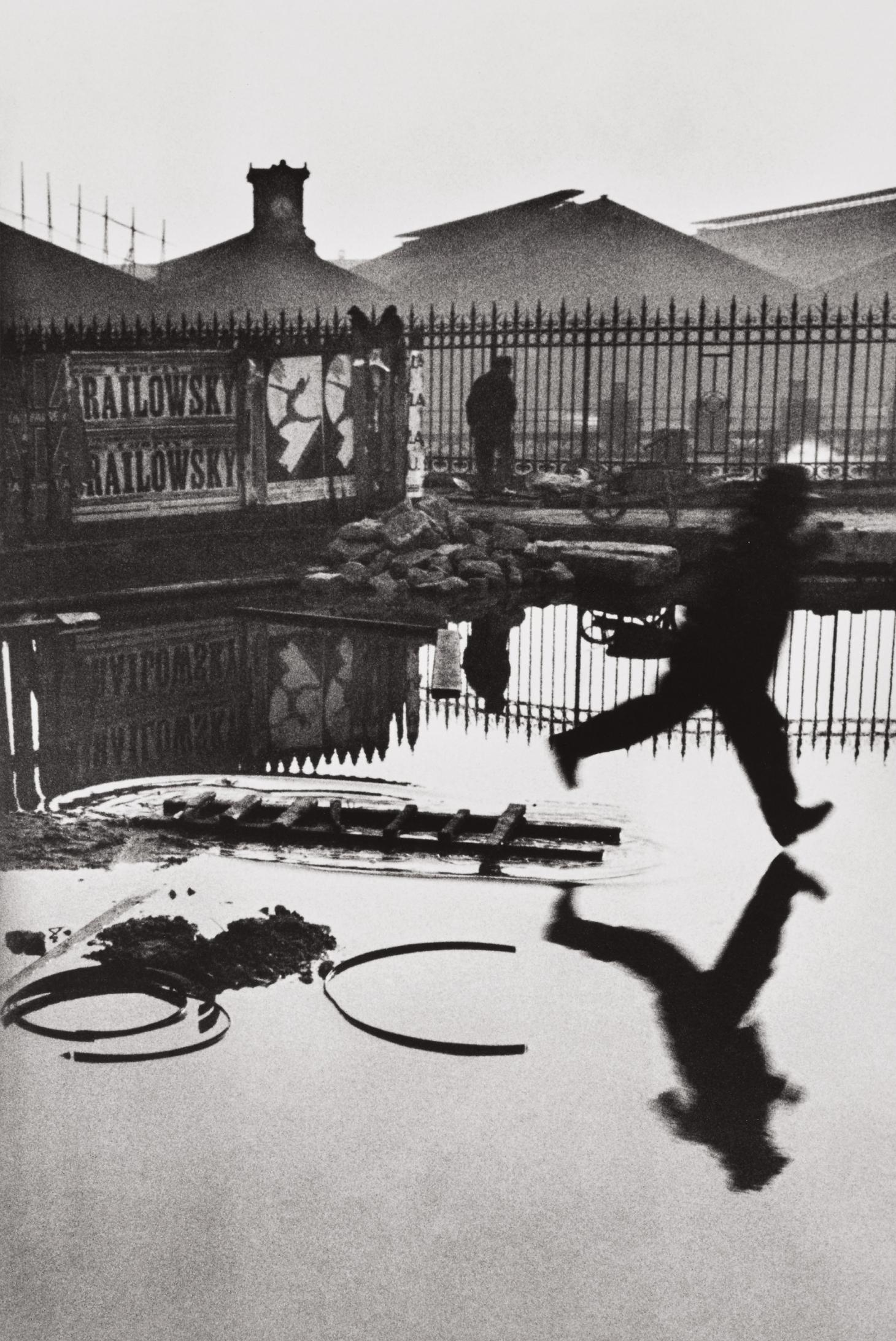 Henri Cartier-Bresson-Behind The Gare Saint-Lazare, Paris-1932