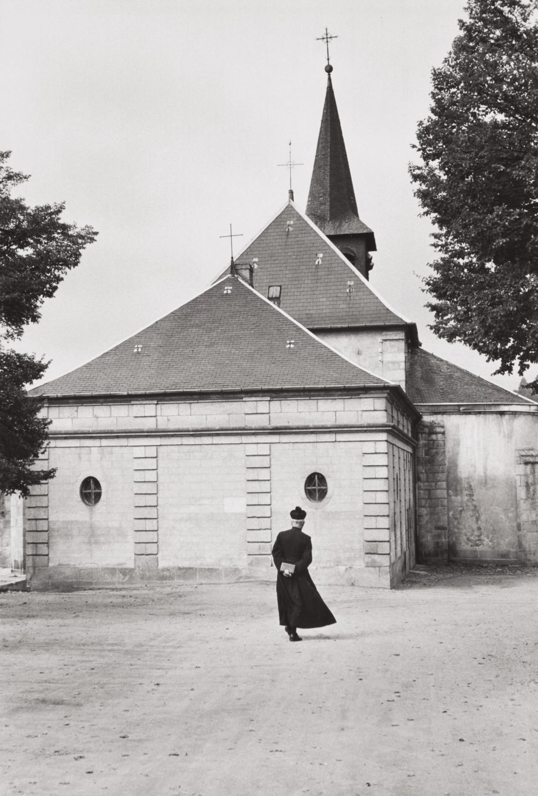 Henri Cartier-Bresson-Church Of Aubusson, France-1968