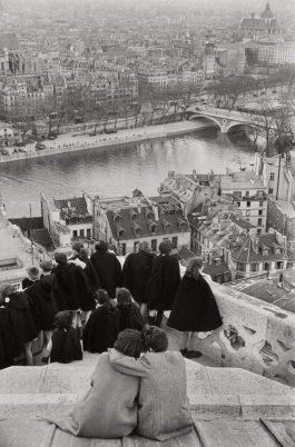 Henri Cartier-Bresson-View From Notre-Dame Cathedral, Paris-1953