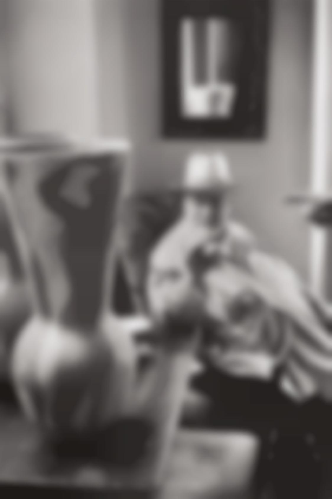 Henri Cartier-Bresson-Henri Matisse Observing A Ceramic Vase By Pablo Picasso, Saint-Jean-Cap-Ferrat-1951