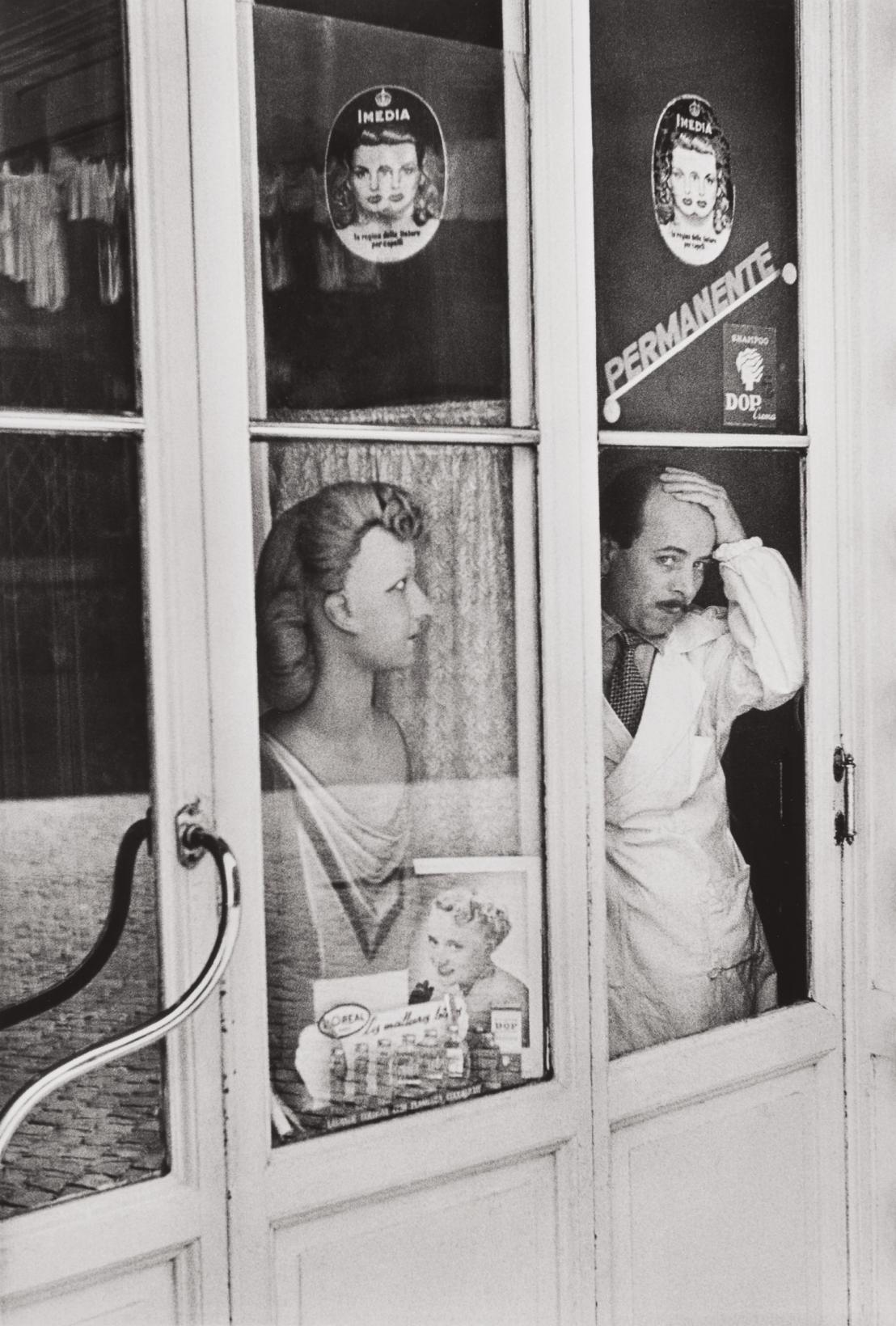Henri Cartier-Bresson-Rome, Italy-1951