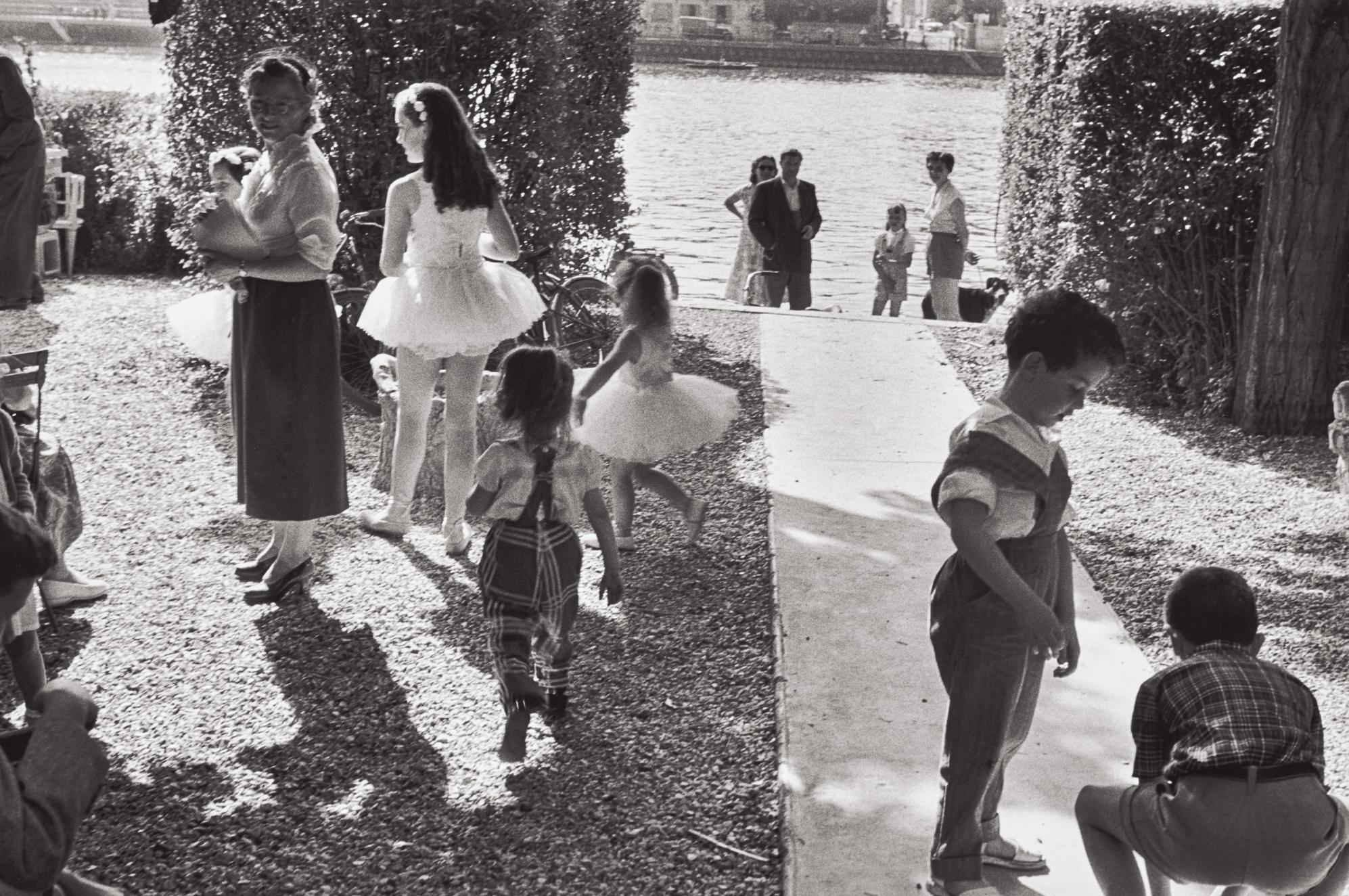 Henri Cartier-Bresson-Near Juvisy-Sur-Orge, France-1955