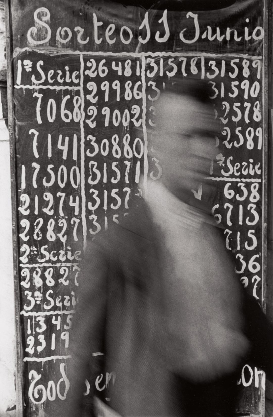 Henri Cartier-Bresson-La Suerte De Hoy (Todays Luck), Madrid-1933