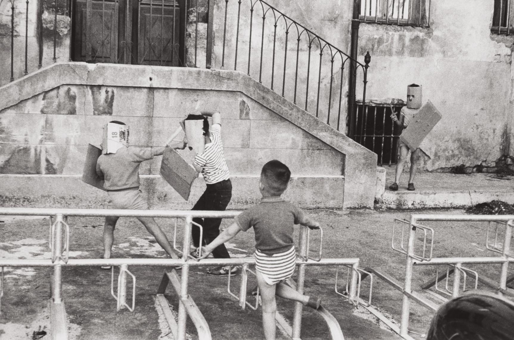Henri Cartier-Bresson-Mardi Gras, Tarascon, Bouches-Du-Rhone-1959