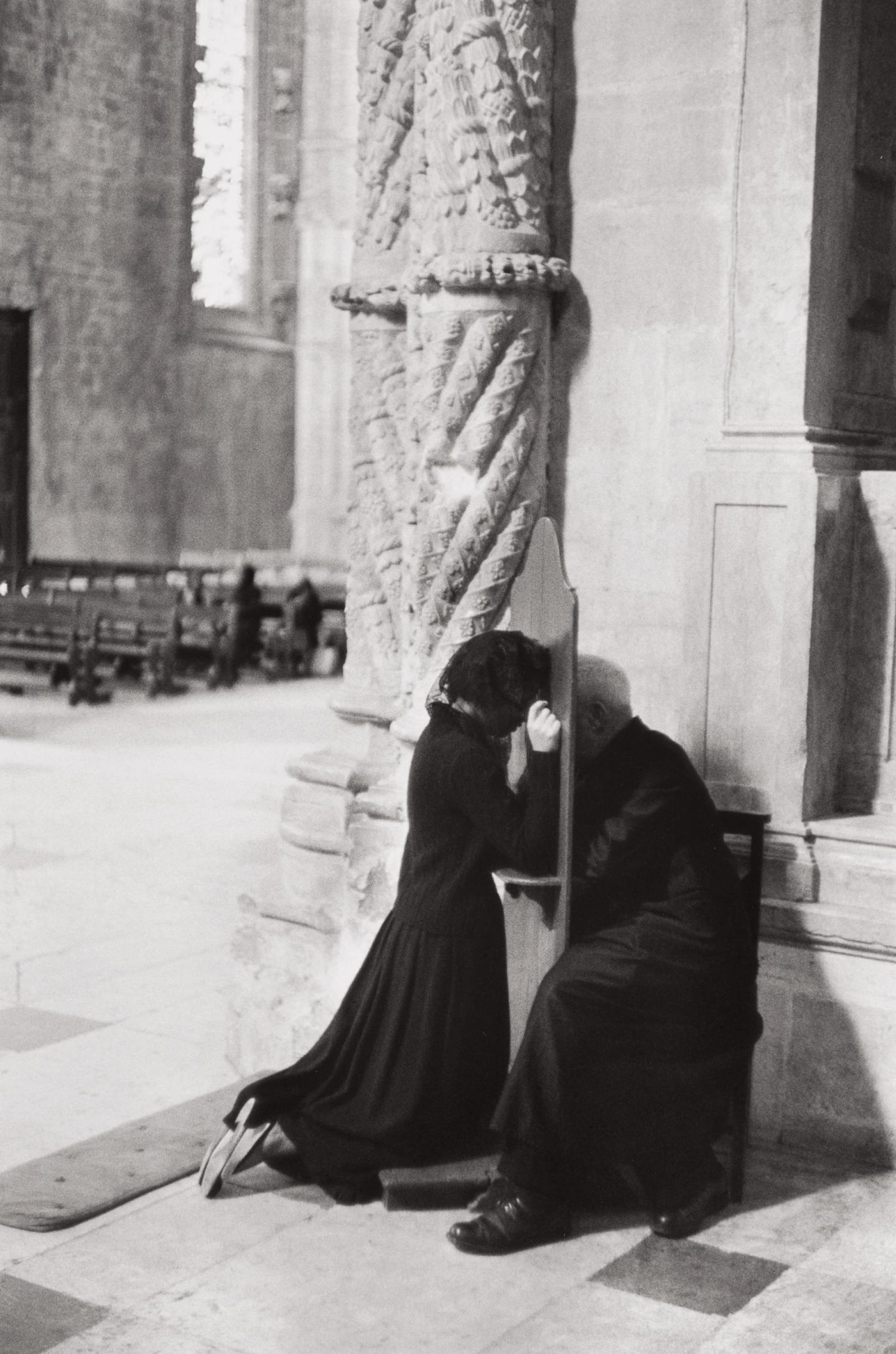 Henri Cartier-Bresson-Jeronimos Monastery, Lisbon, Portugal-1955