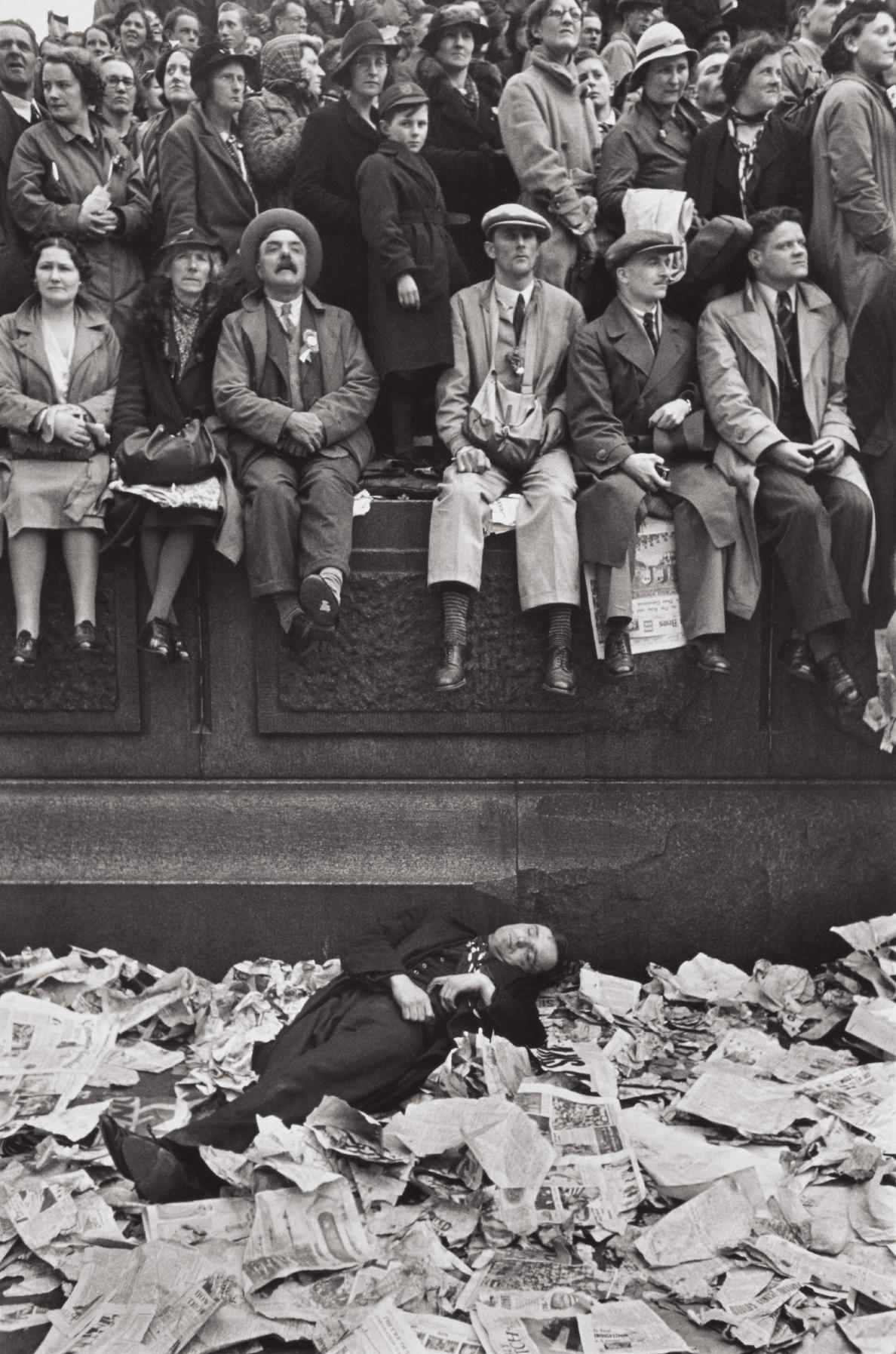 Henri Cartier-Bresson-Coronation Of King George VI, London-1937