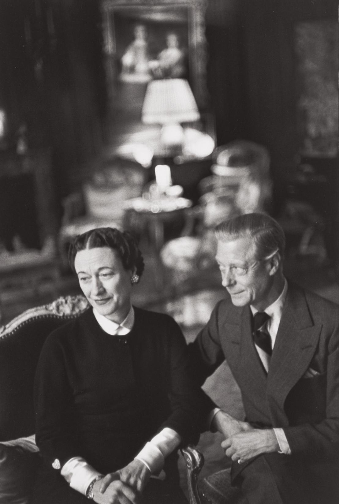 Henri Cartier-Bresson-The Duke And Duchess Of Windsor, Paris-1951