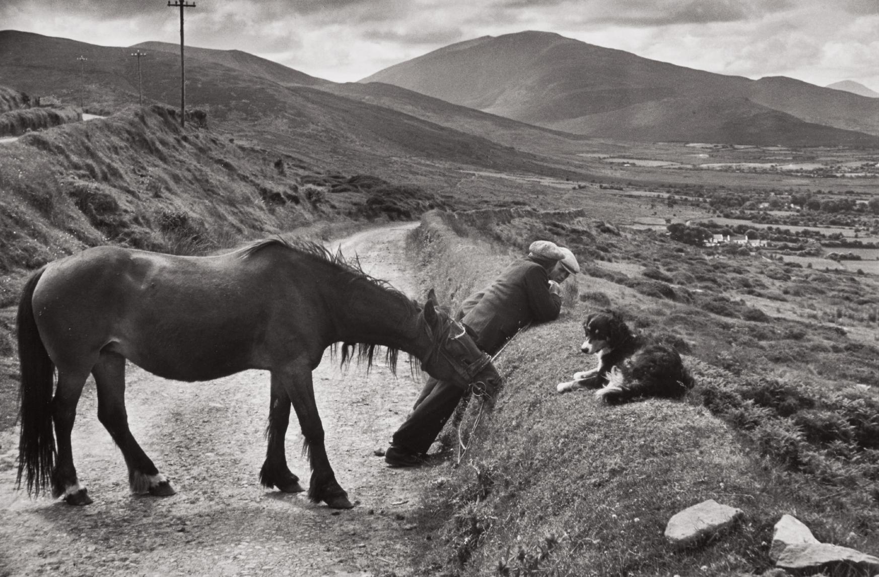 Henri Cartier-Bresson-County Kerry, Ireland-1952