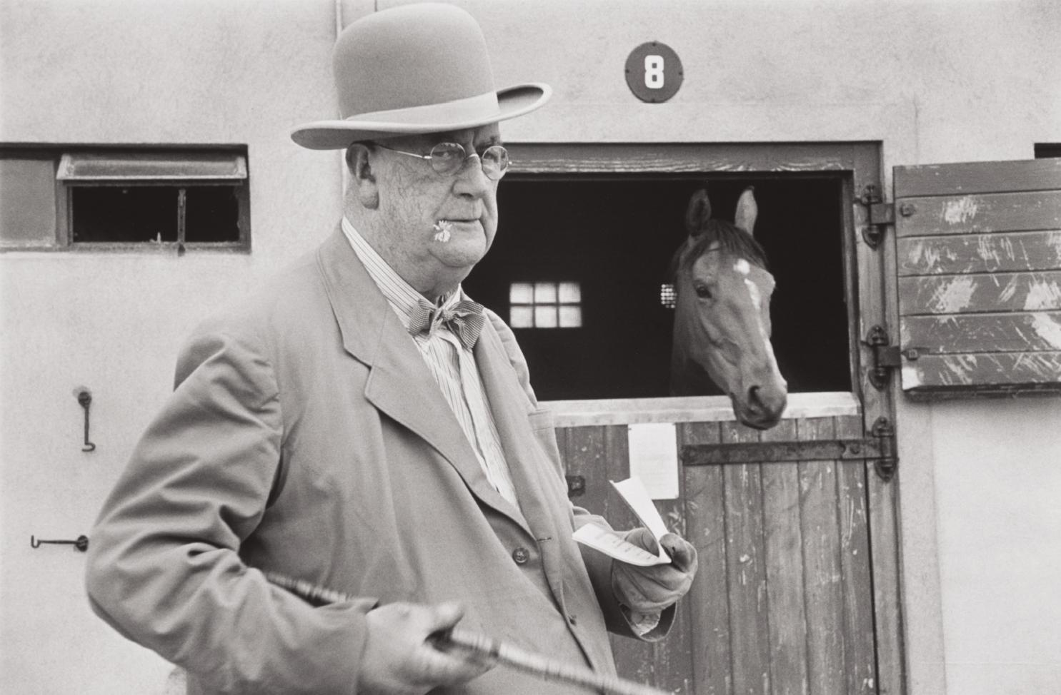 Henri Cartier-Bresson-At The Curragh Racecourse Near Dublin, Ireland-1952