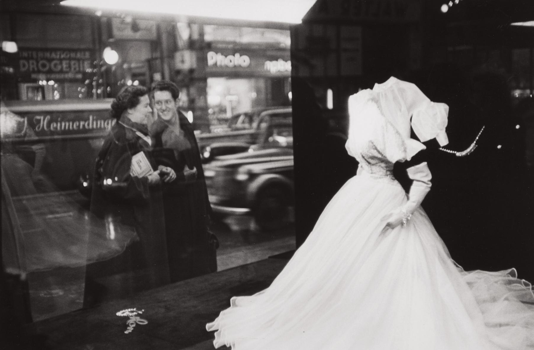 Henri Cartier-Bresson-Window-Display Of A Large Hamburg, Germany Clothing-Store-1953