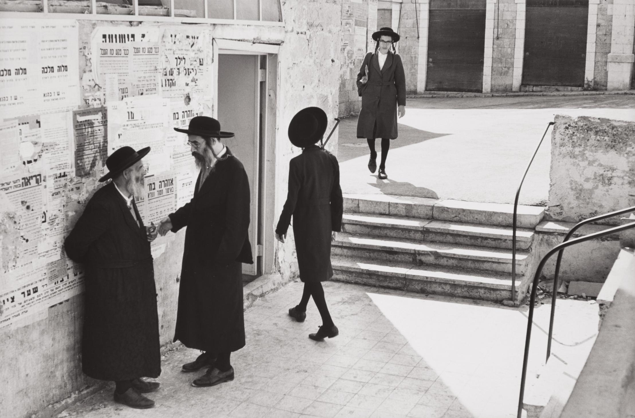 Henri Cartier-Bresson-Jerusalem, Israel-1967