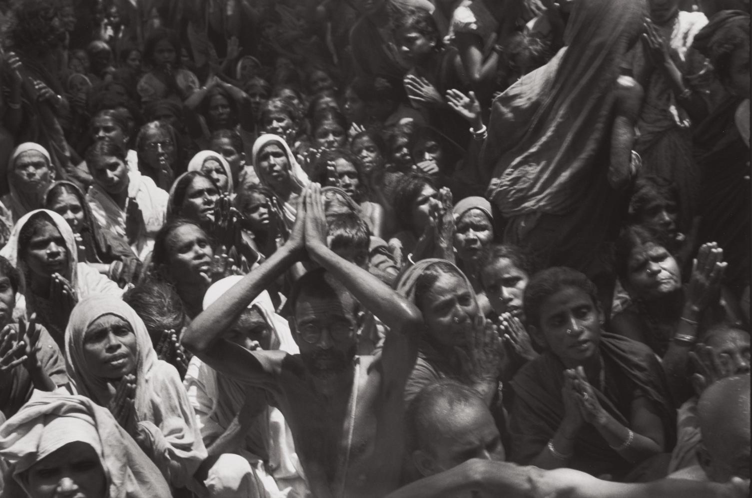 Henri Cartier-Bresson-Funeral Of The Bhagwan Sri Ramana Maharshi, Tiruvannamalai, India-1950