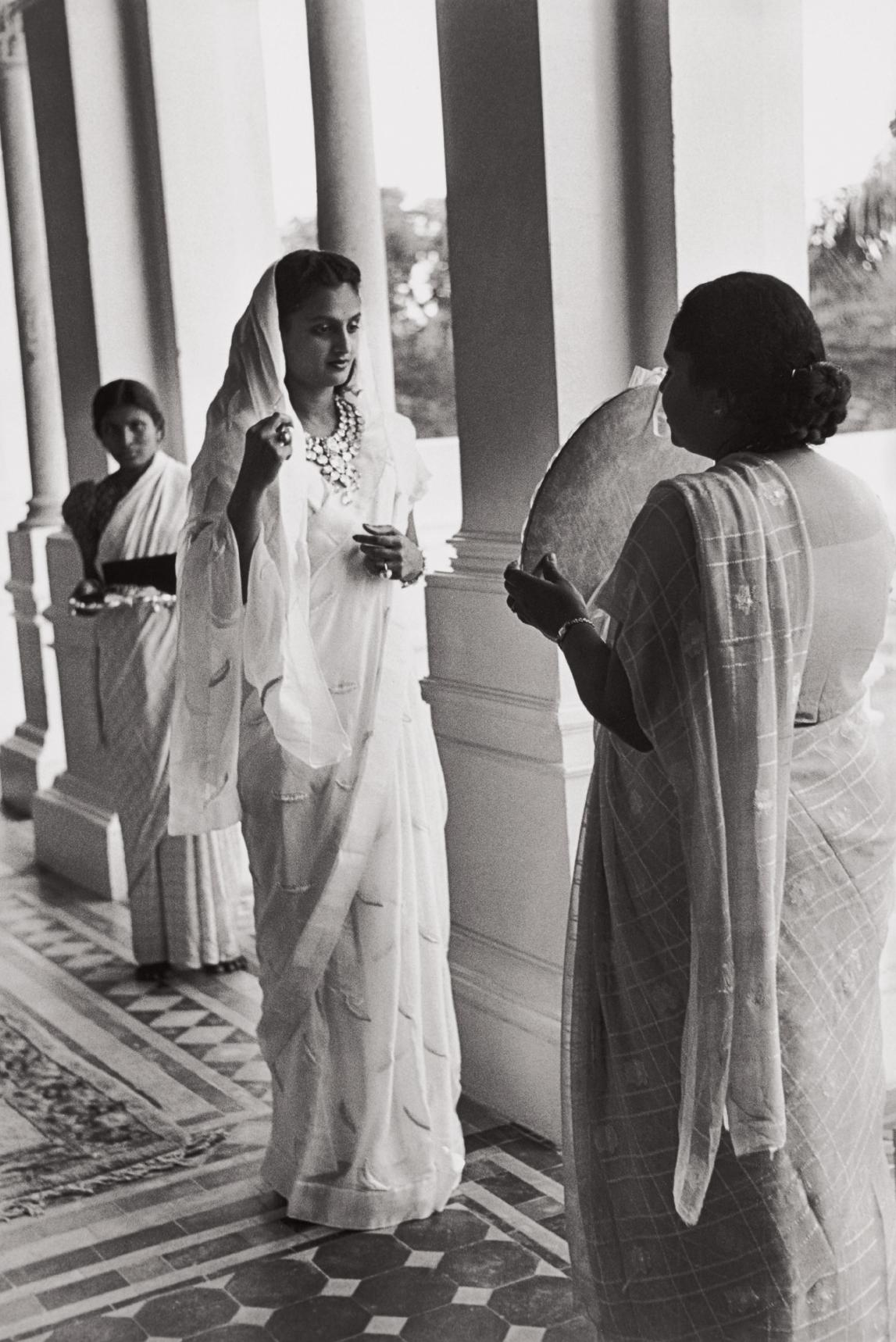 Henri Cartier-Bresson-Festivities For The 39Th Birthday Of The Maharajah (The Diamonds Once Belong To Napoleon), Gujarat, Baroda [Vadodara], India-1948