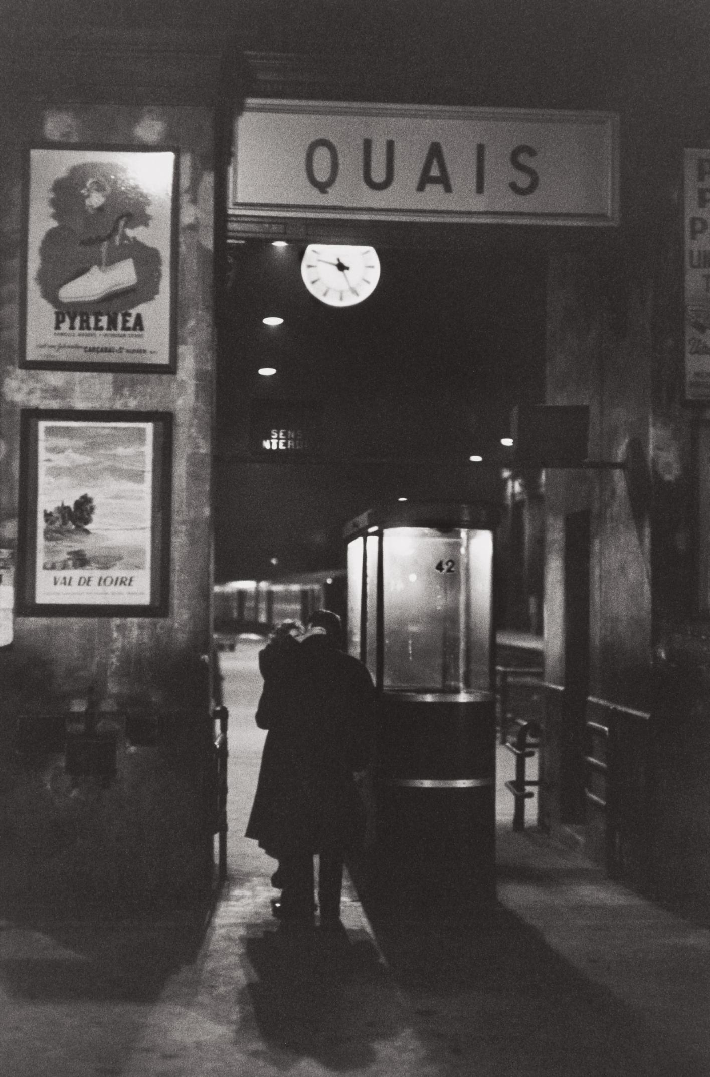 Henri Cartier-Bresson-Railway Station, 10Th Arrondissement, Paris-1958