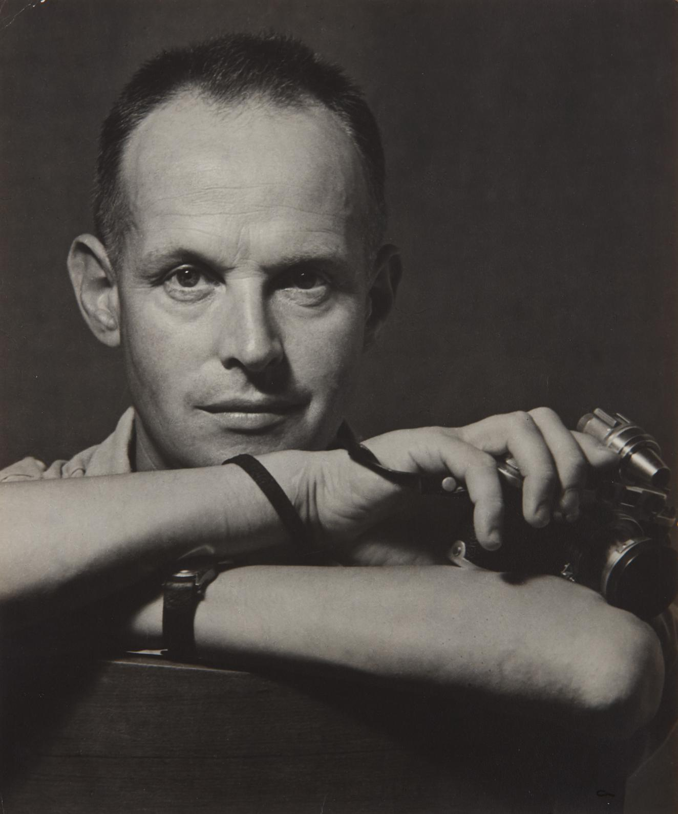 Sam Tata - Portrait Of Henri Cartier-Bresson-1948