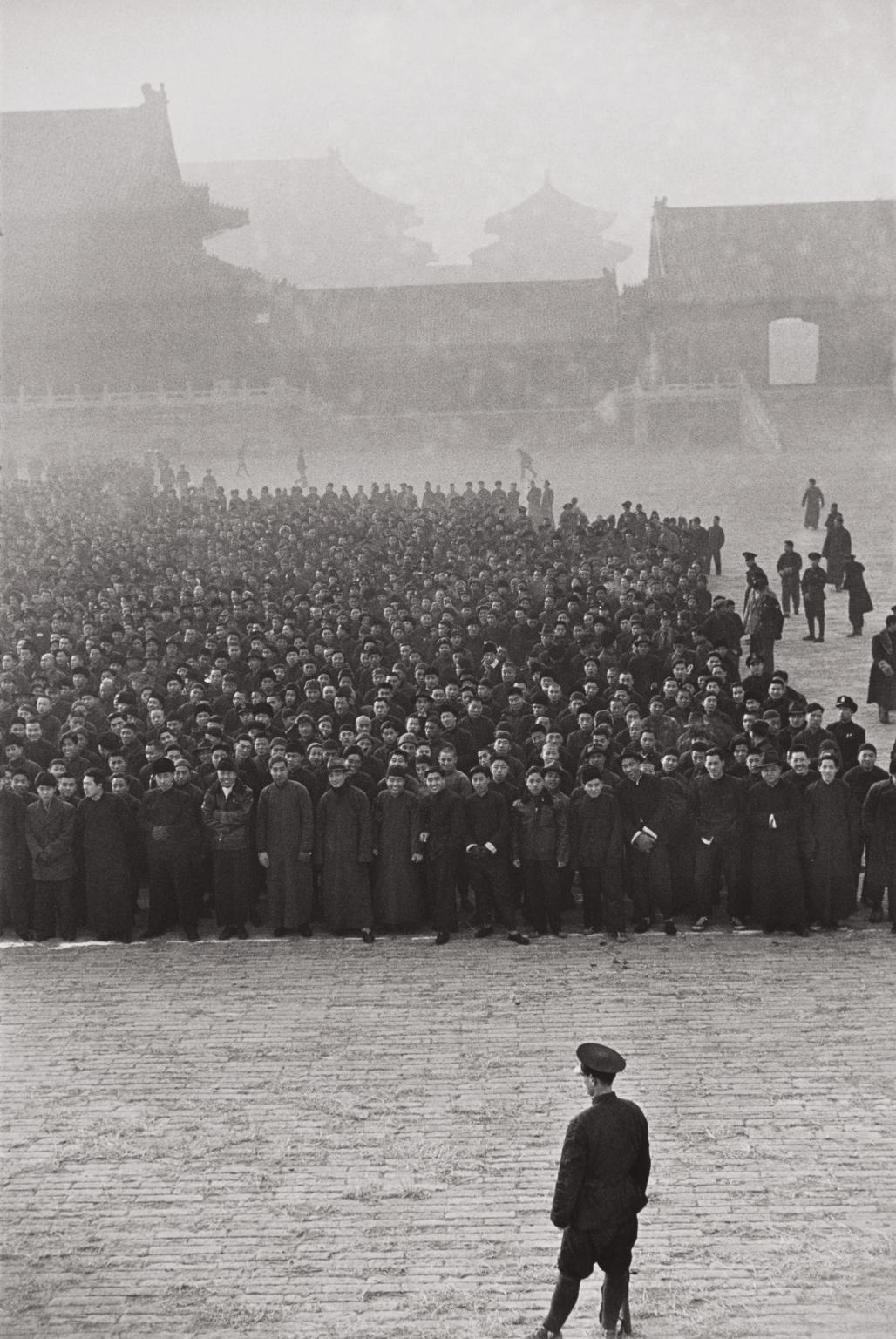 Henri Cartier-Bresson-The Kuomintang Calls Recruits To Arms, Beijing, China-1948