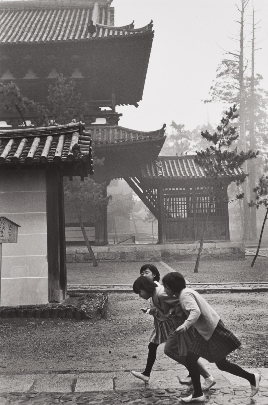 Henri Cartier-Bresson-Kyoto, Japan-1965