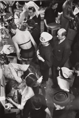 Henri Cartier-Bresson-Changing During The Christian Dior Fashion Show, Paris-1947