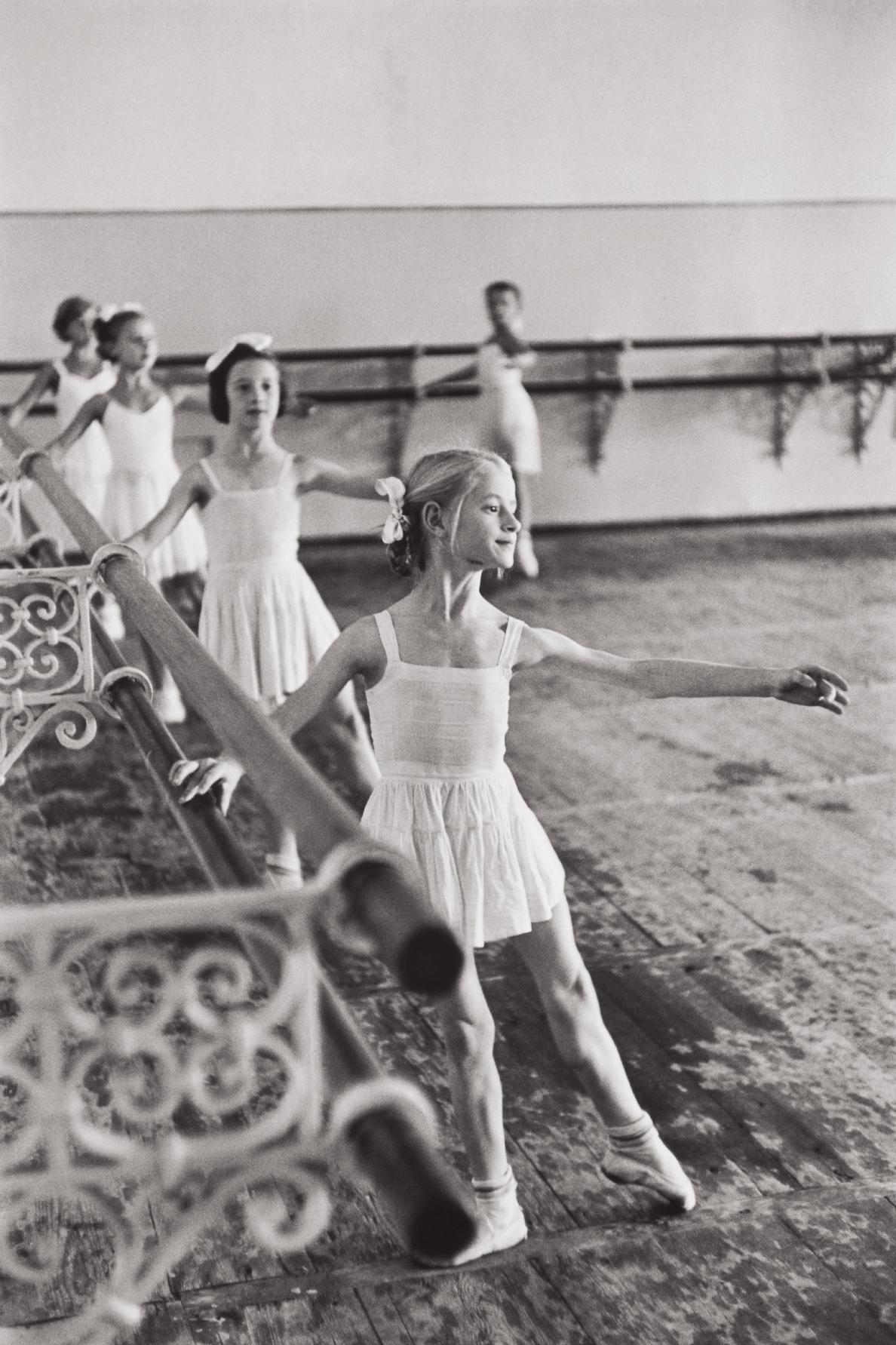 Henri Cartier-Bresson-Bolshoi Ballet School, Moscow, Ussr-1954