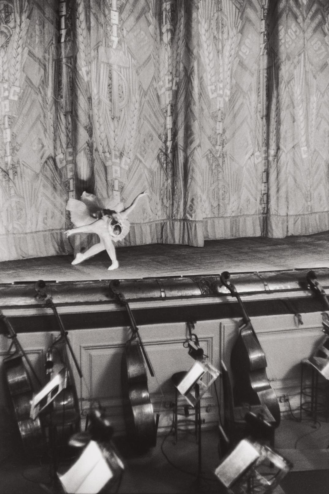 Henri Cartier-Bresson-Swan Lake, Bolshoi Theatre, Moscow, Ussr-1954