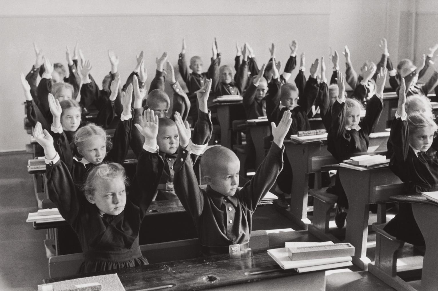Henri Cartier-Bresson-School Children, Moscow, Ussr-1954