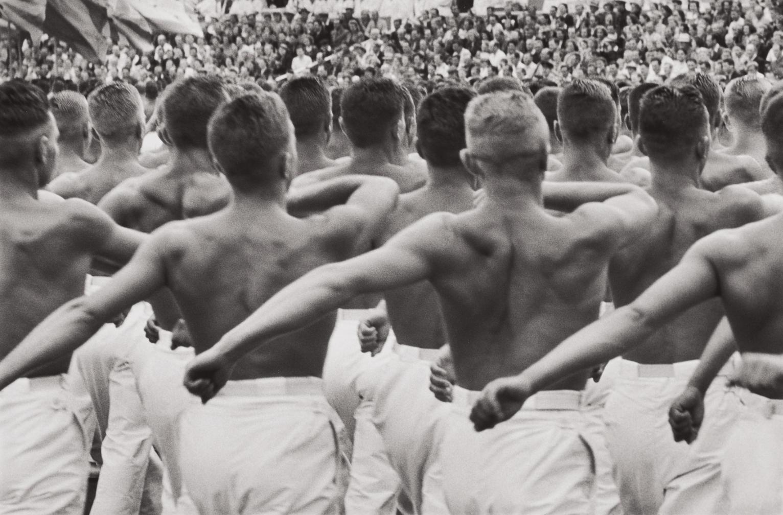 Henri Cartier-Bresson-Dynamo Stadium, Moscow, Ussr-1954