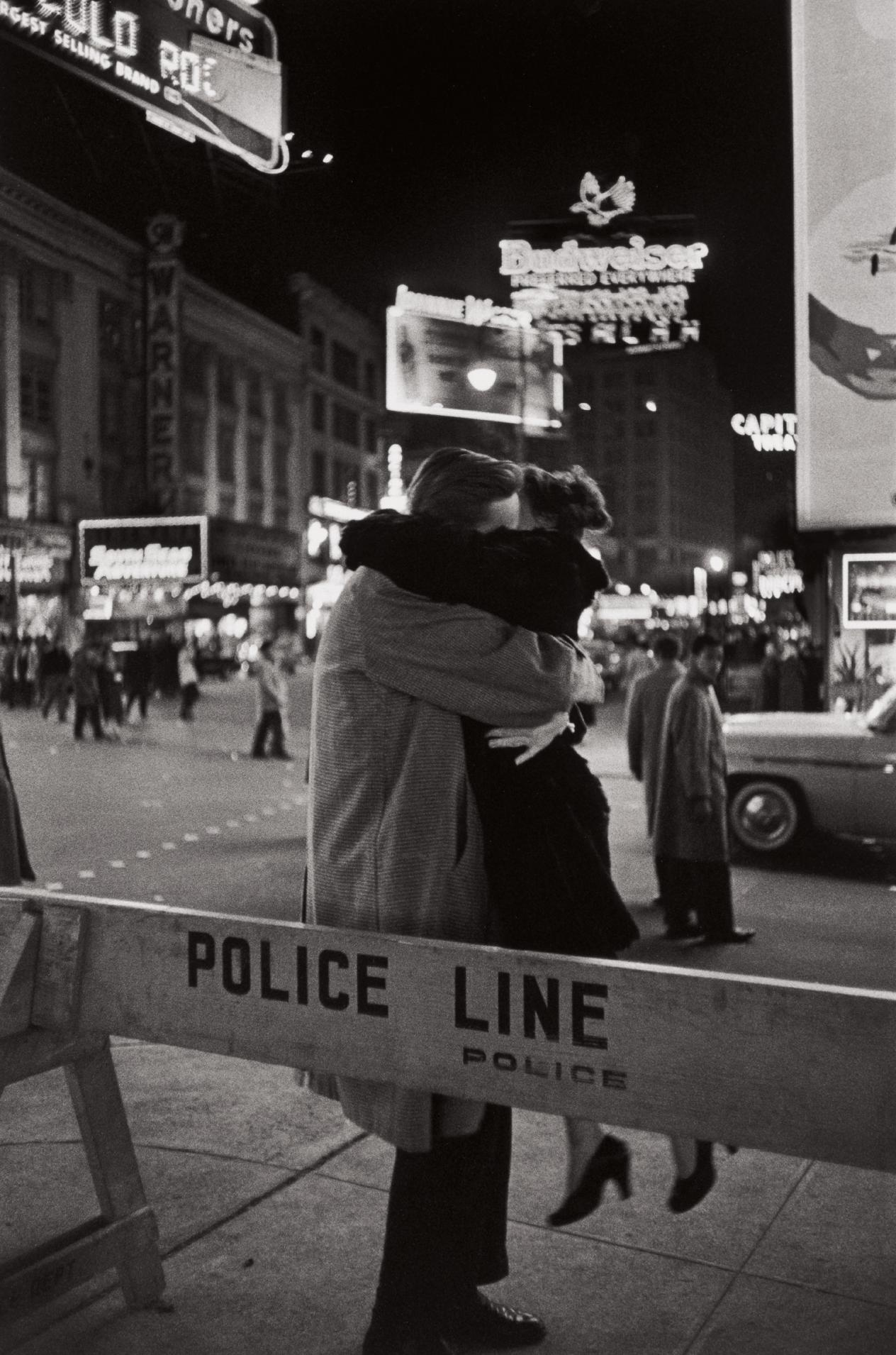 Henri Cartier-Bresson-New Year'S Eve, Times Square, Manhattan-1959