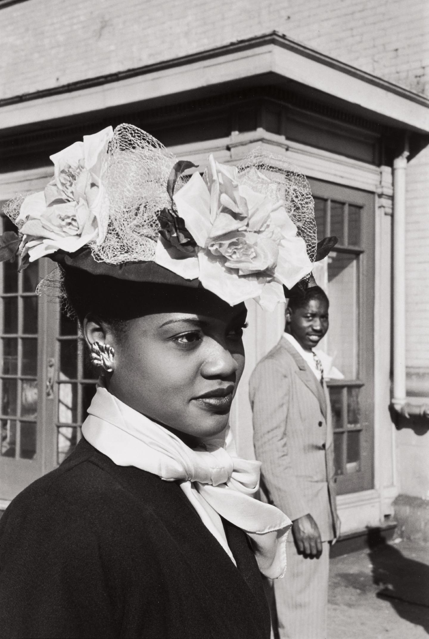 Henri Cartier-Bresson-Easter Sunday In Harlem-1947
