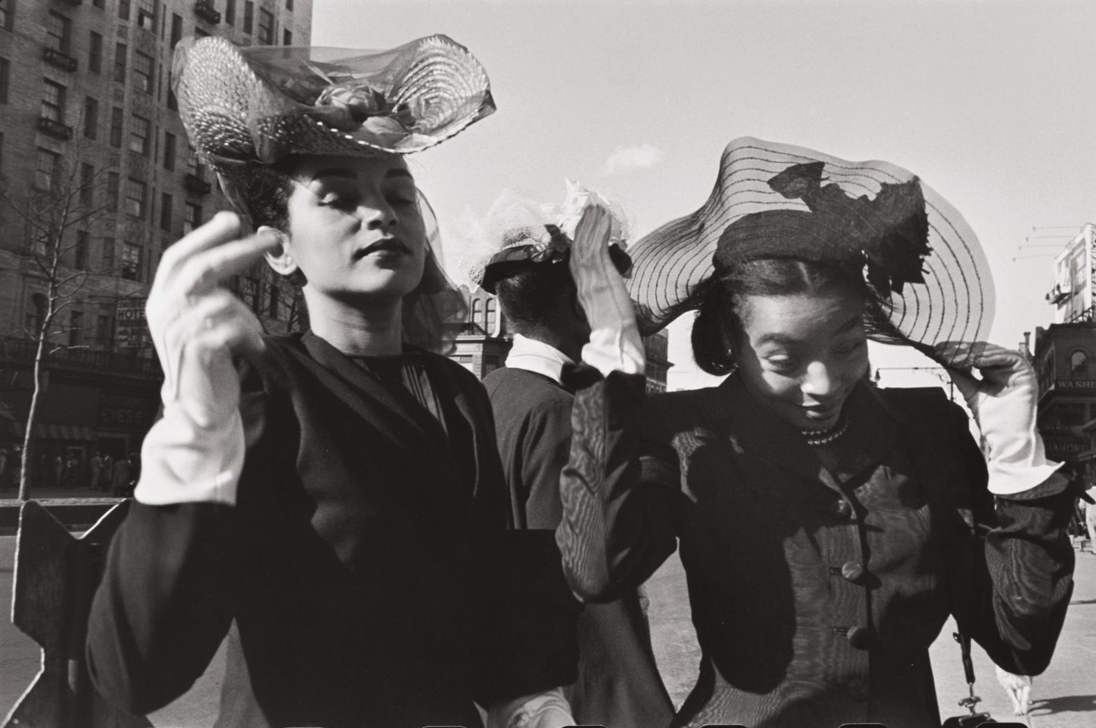 Henri Cartier-Bresson-Easter Sunday, Harlem-1947