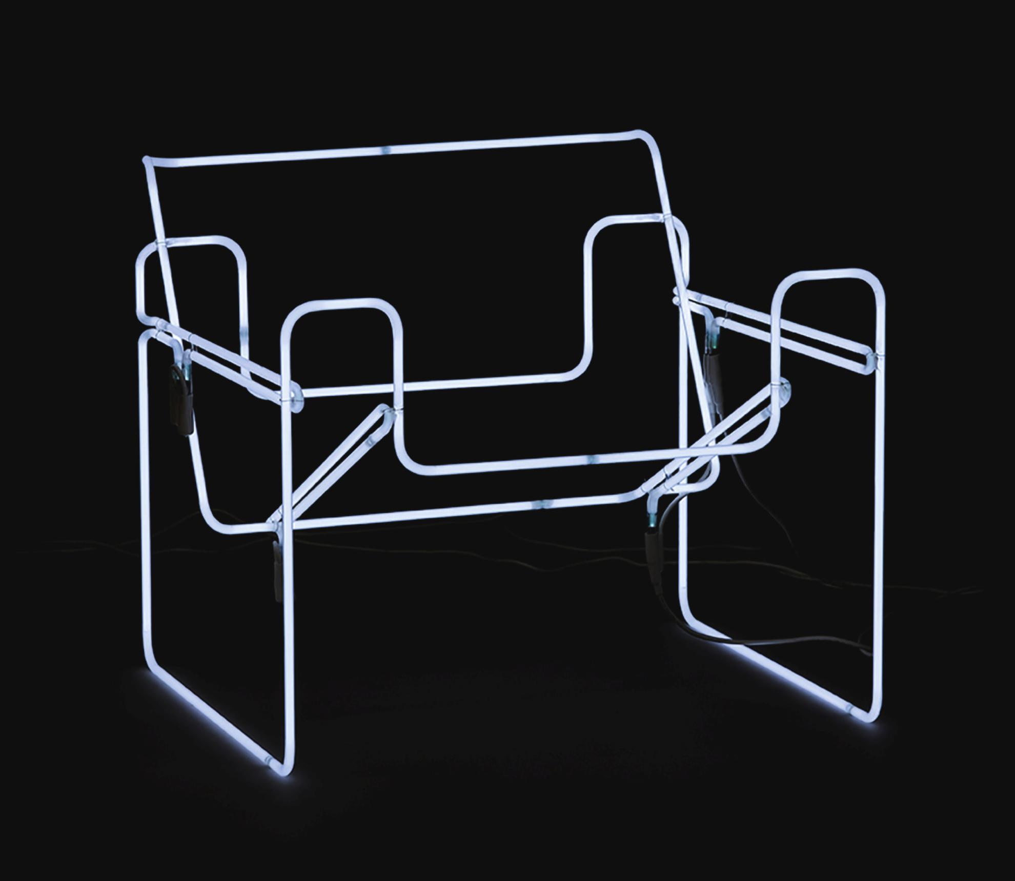 Ivan Navarro-Glow In The Dark-2006