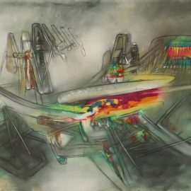 Roberto Matta-Untitled-1957