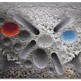 Chun Kwang Young-Aggregation 12 - Ja005 Blue And Red-2012