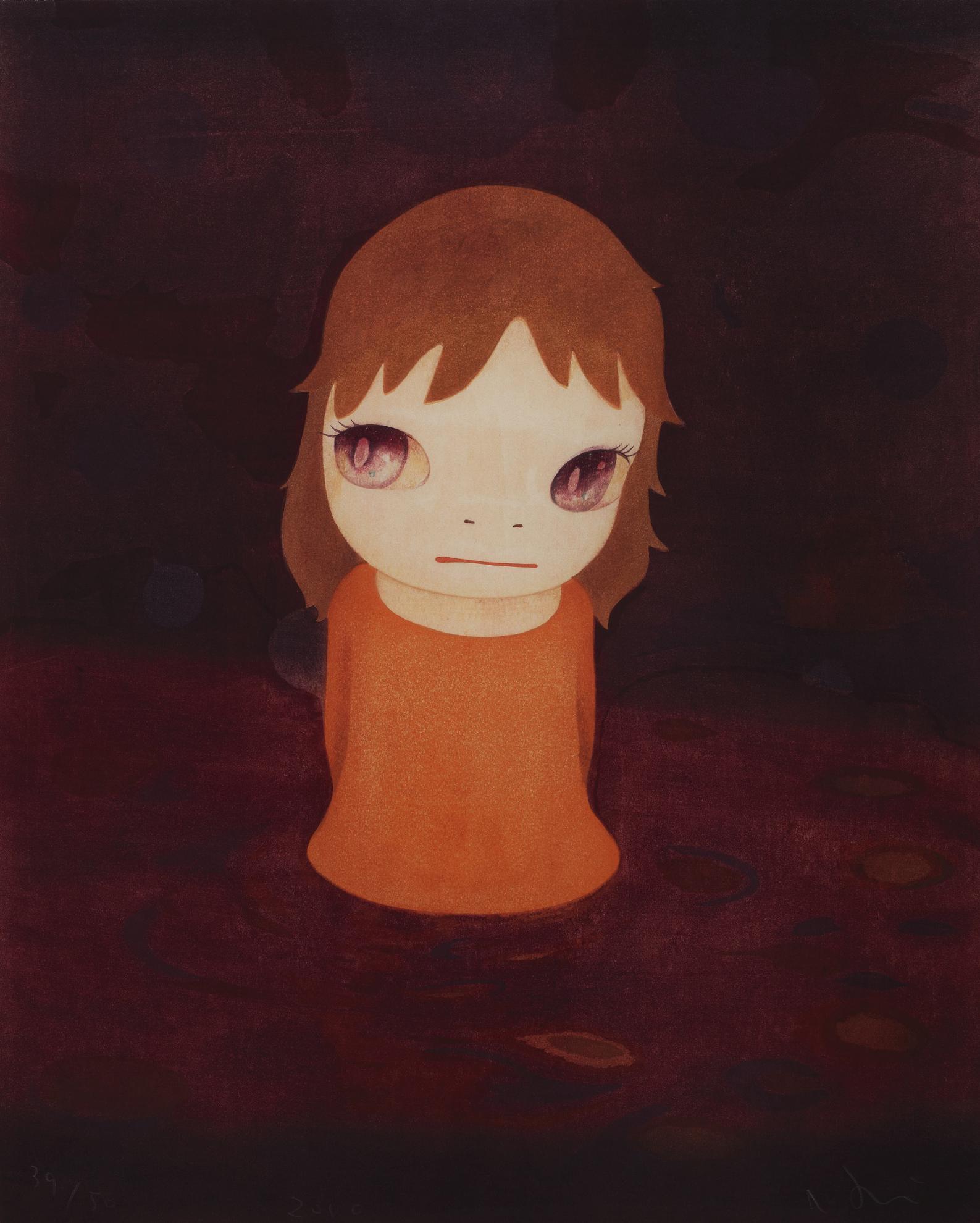 Yoshitomo Nara-After The Acid Rain (Night Version)-2010