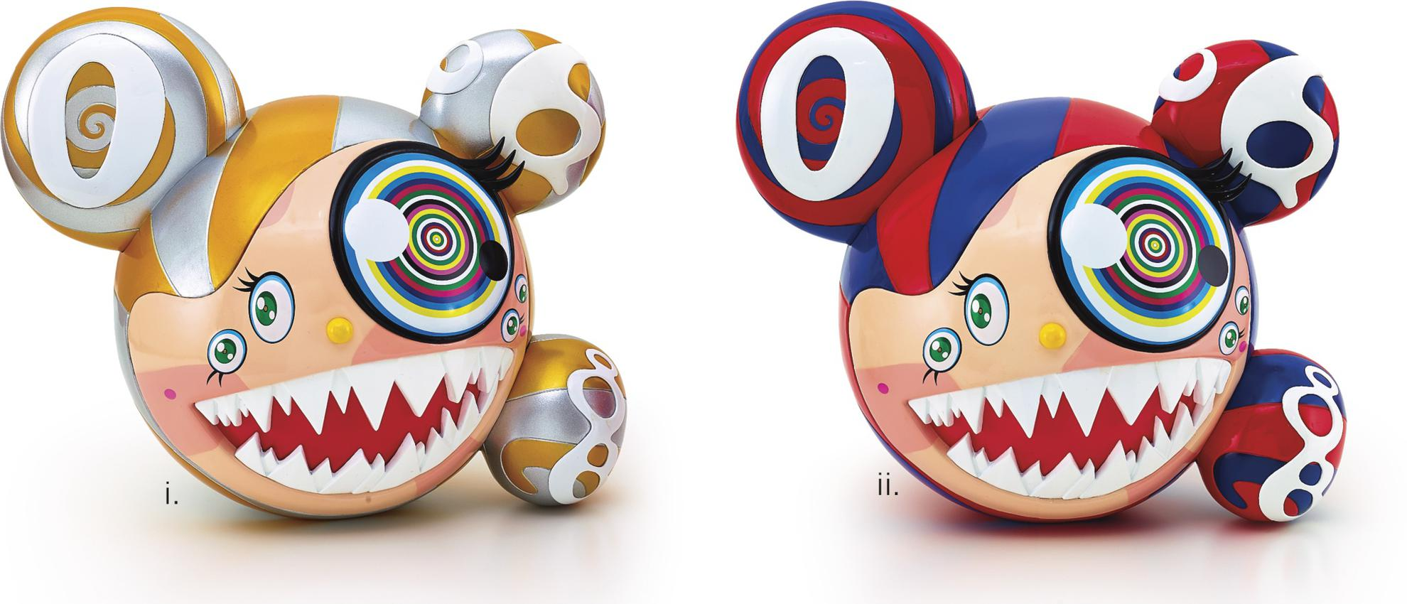 Takashi Murakami-Murakami X Complexcon Mr. Dob (2 Works)-2016