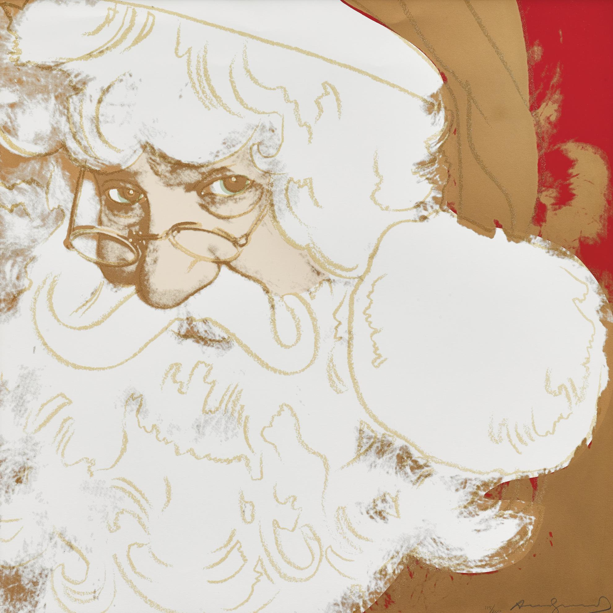 Andy Warhol-Santa Claus-1981