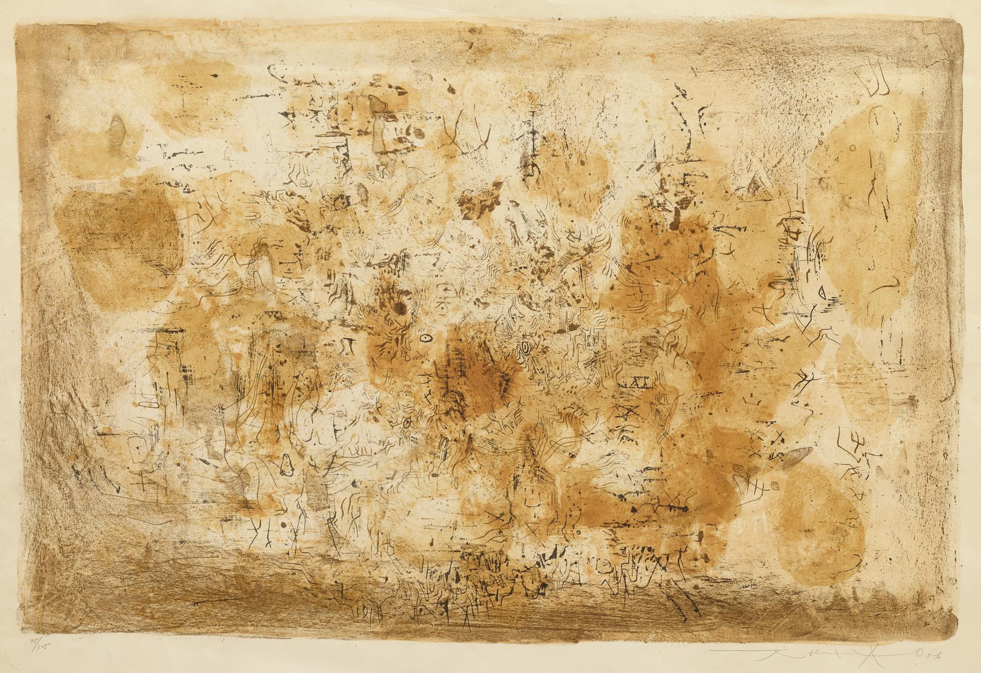 Zao Wou-Ki-Laurore-1956