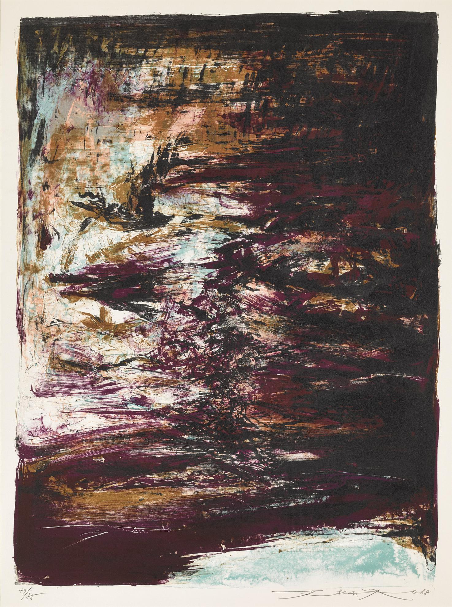 Zao Wou-Ki-Untitled-1968