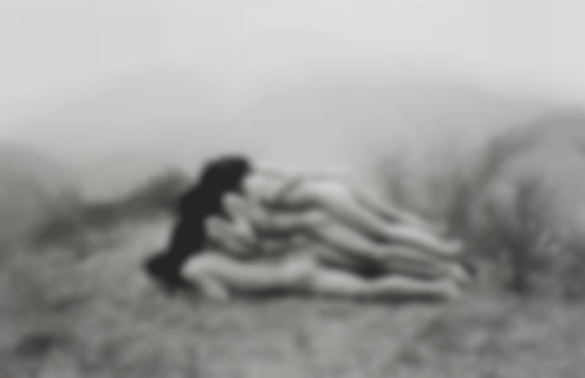 Zhang Huan-To Add One Meter To An Anonymous Mountain-1995