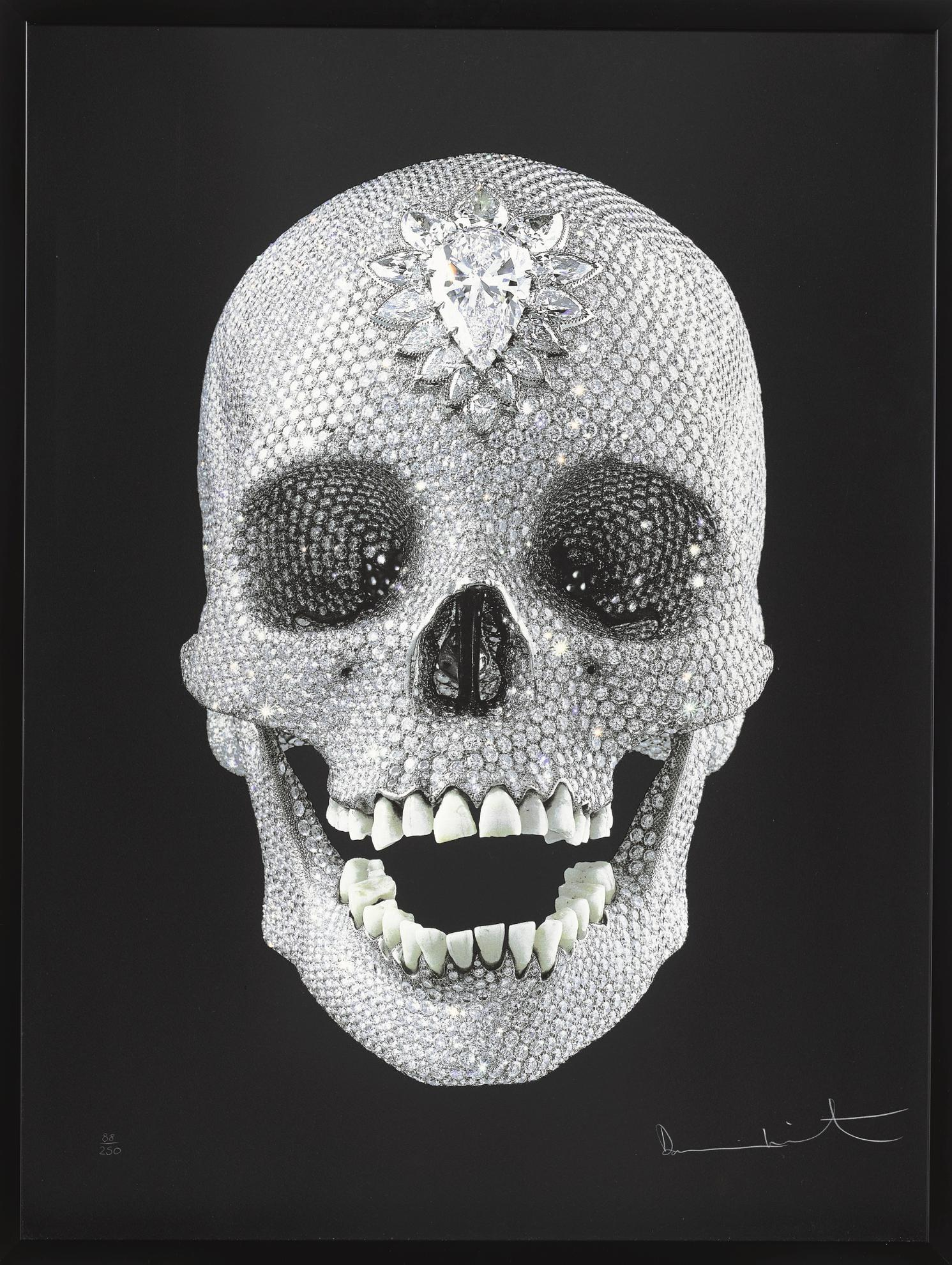 Damien Hirst-For The Love Of God - Wonder-2009