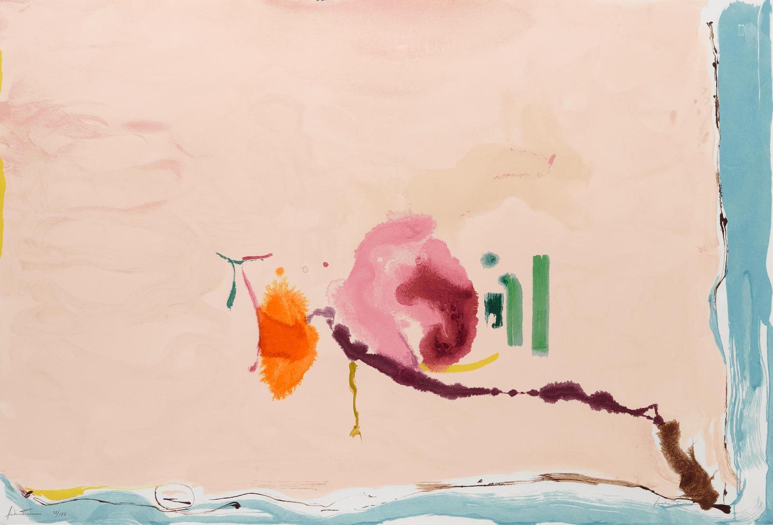 Helen Frankenthaler-Flirt-1995