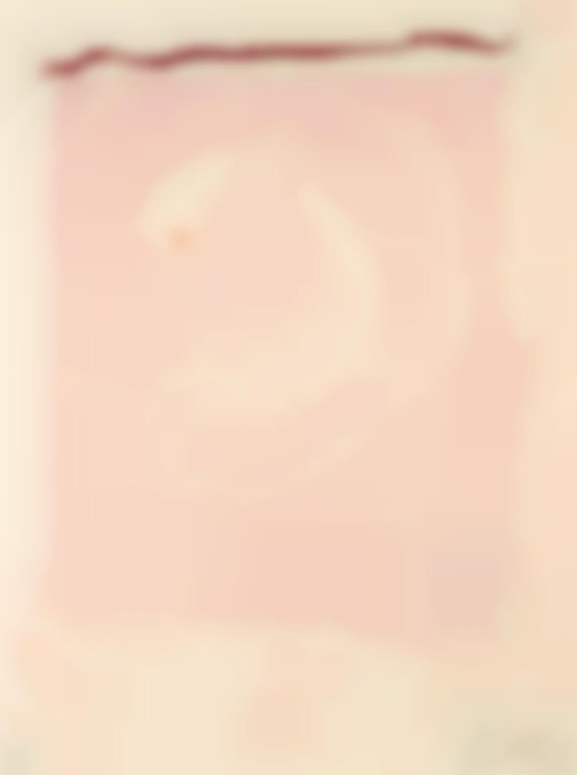 Helen Frankenthaler-Reflections IX, From Reflections Series-1995