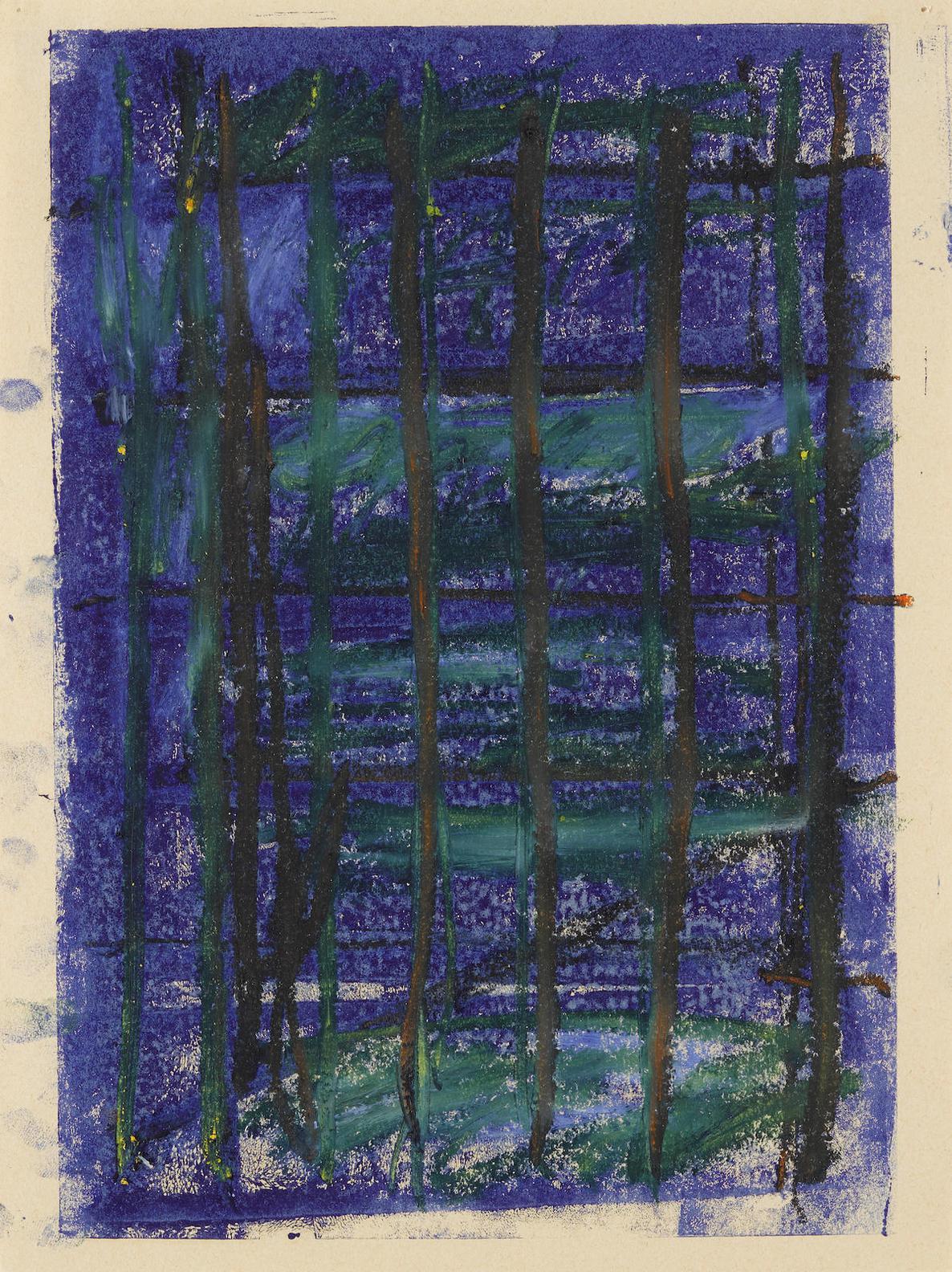 Gunther Forg-Fourteen Monotypes-1988