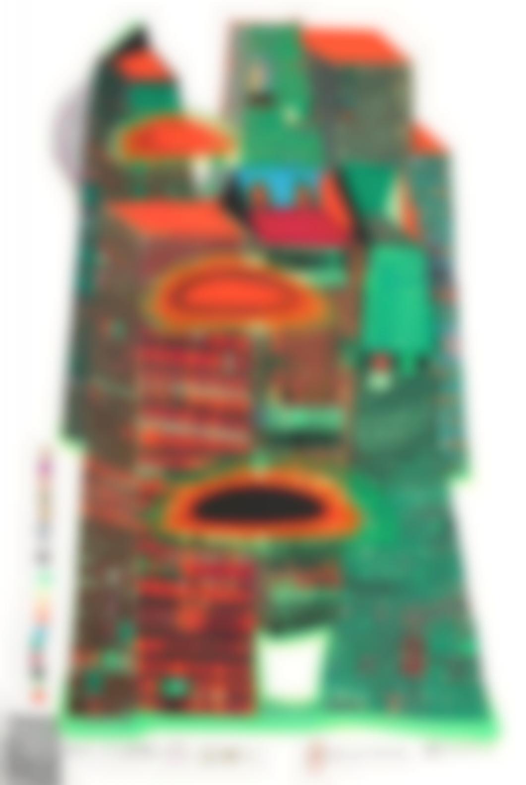 Friedensreich Hundertwasser-Good Morning City - Bleeding Town-1971
