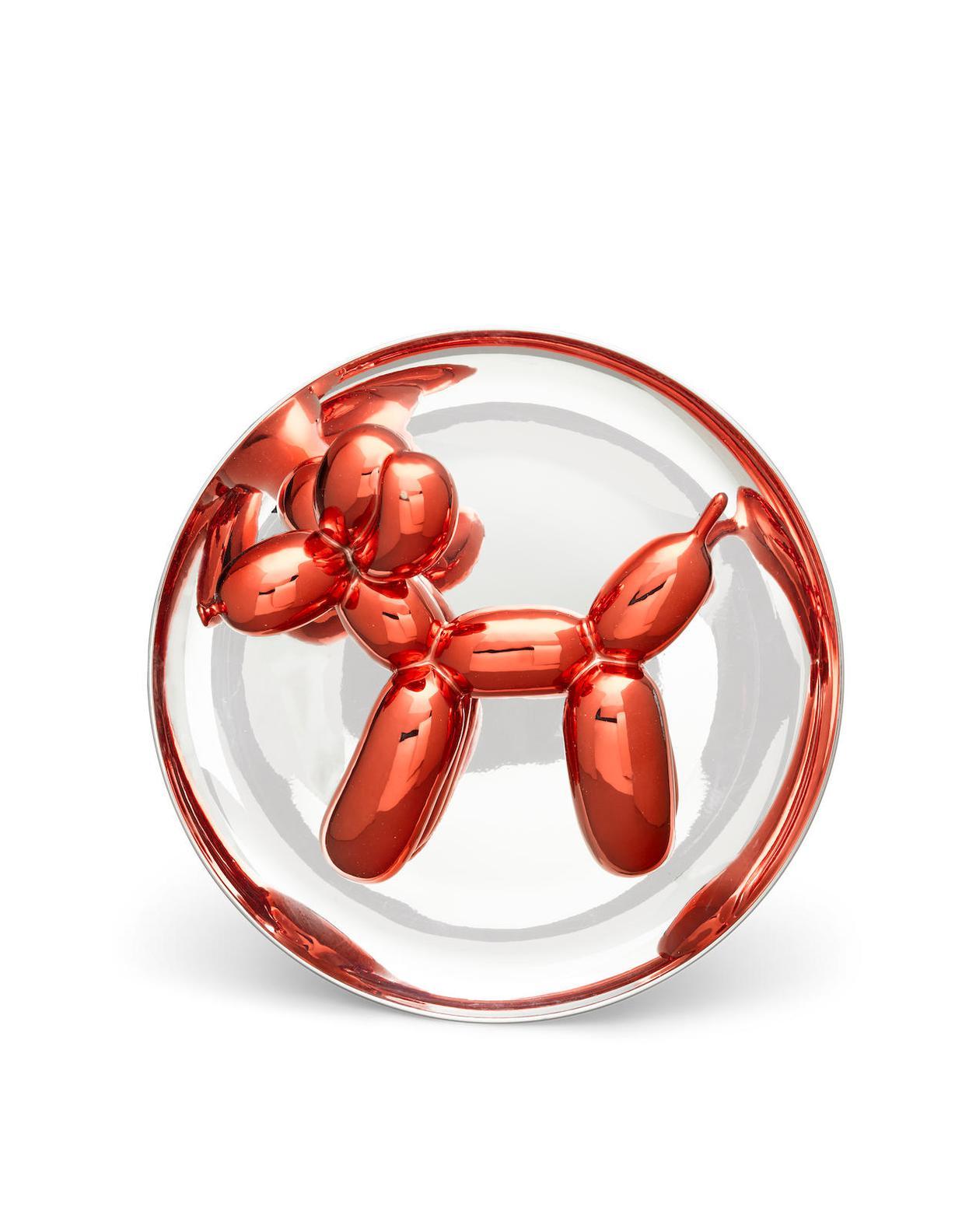 Jeff Koons-Balloon Dog-Red-1995