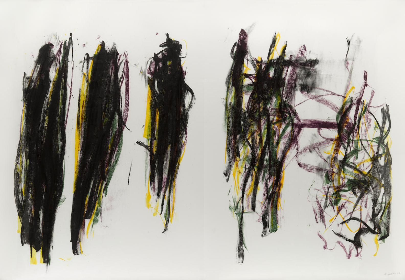 Joan Mitchell-Trees II, From Trees-1992