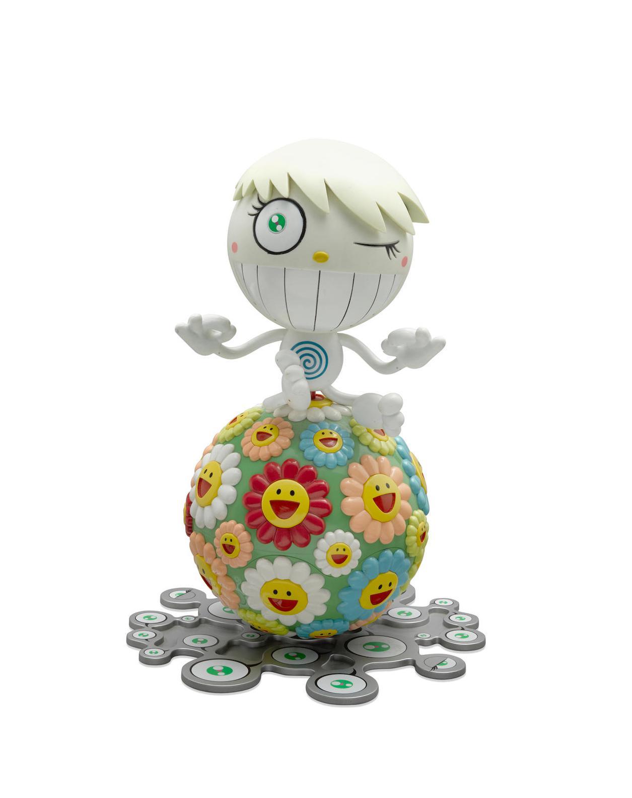 Takashi Murakami-Mr. Wink, Cosmos Ball-2000