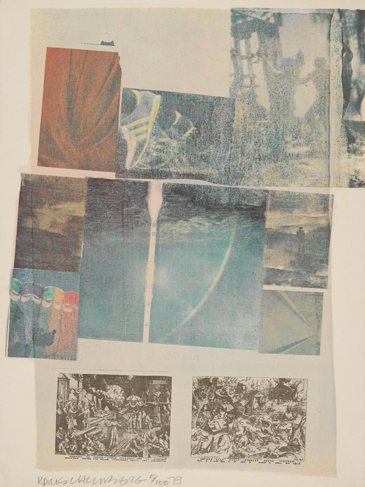Robert Rauschenberg-People Have Enough Trouble Without Being Intimidated By An Artichoke-1979