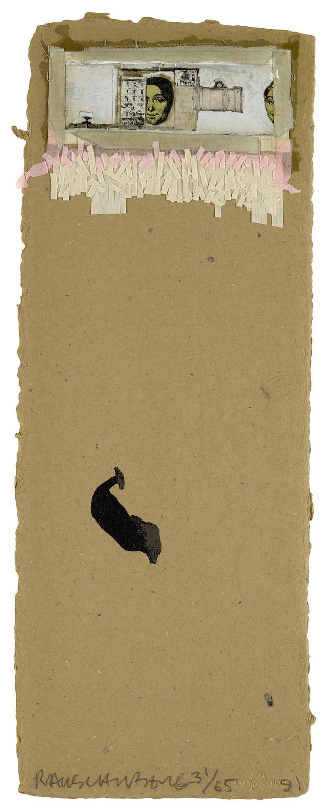 Robert Rauschenberg-Shirtboard, From Shirtboards, Morocco, Italy 52 Portfolio-1991